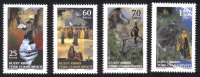 North Cyprus Stamps SG 0776-79 2014 The only witness was the Cumbez - MINT
