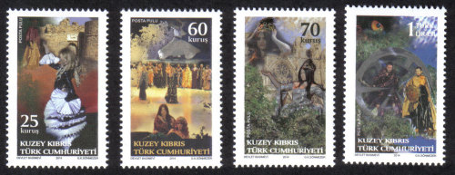 North Cyprus Stamps SG 2014 (d) The only witness was the Cumbez - MINT