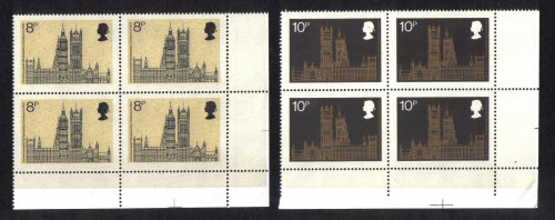 British Stamps 1973 19th Commonwealth Conference - Blocks of 4 MINT (h807)