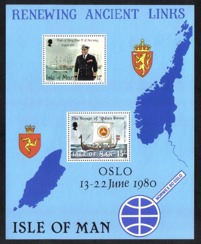 Isle of Man Stamps 1980 Renewing Ancient Links - MINT (z544)