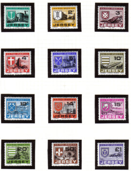 Jersey Stamps 1978 Postage Due - MINT (z541)