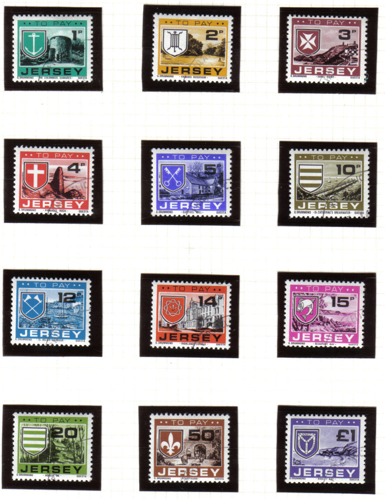 Jersey Stamps 1978 Postage Due - CTO USED (z542)