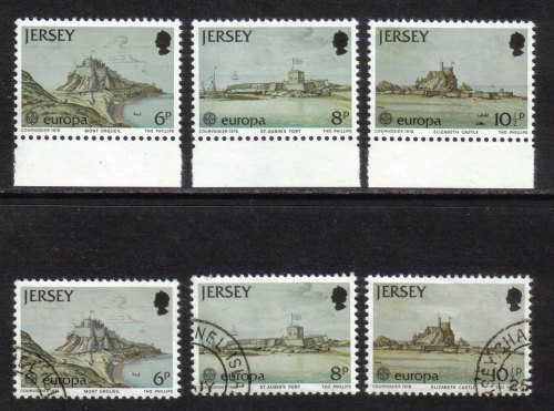 Jersey Stamps 1978 Europa - MINT and USED (z480)