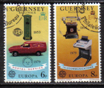 Guernsey Stamps 1979 Europa Post office - CTO USED (z565)