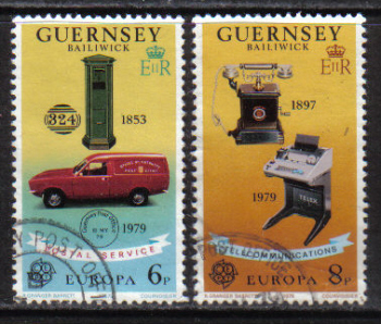 Guernsey Stamps 1979 Europa Post office - CTO USED (z566)
