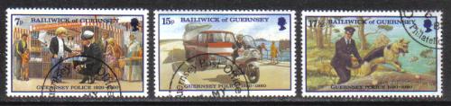 Guernsey Stamps 1980 Police Service - USED (z577)