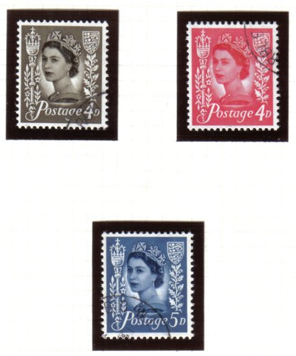 Guernsey Stamps 1968-69 - USED (z603)