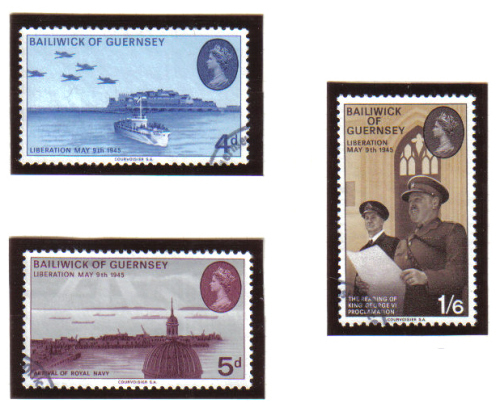 Guernsey Stamps 1970 Liberation - USED (z608)