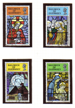 Guernsey Stamps 1973 Christmas - USED (z614)