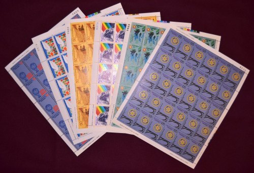 Cyprus Stamps SG 527-32 1979 Anniversaries and Events - Full sheets MINT (h