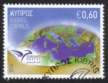 "Cyprus Stamps SG 1325 2014 Euromed Postal Joint Issue ""The Mediterranean"" - USED (h840)"
