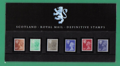 British Stamps 1983 Scotland Definitives Pack number 2 (the new series) - M
