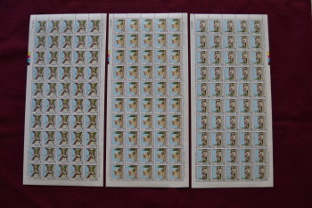 Cyprus Stamps SG 502-04 1978 Europa Architecture -  Full sheets MINT (h716)