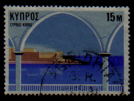 AGRIDHIA Cyprus stamps postmarks