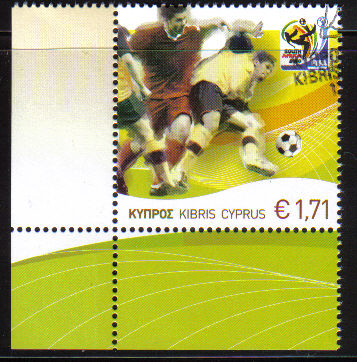 Cyprus Stamps SG 1218 2010 Fifa World Cup Football - CTO USED (c396)
