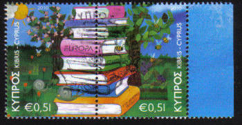 Cyprus Stamps SG 1219-20 2010 Europa Childrens books - CTO USED (c705)