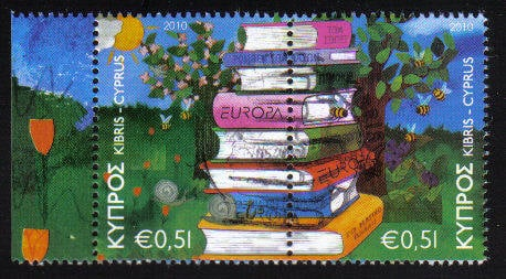 Cyprus Stamps SG 1219-20 2010 Europa Childrens books - CTO USED (c709)