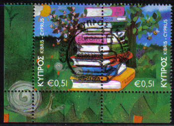 Cyprus Stamps SG 1219-20 2010 Europa Childrens books - CTO USED (c710)