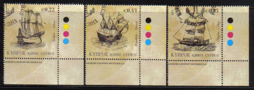 Cyprus Stamps SG 2011 (g) Tall Ships - CTO USED (e207)