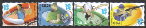 Cyprus Stamps SG 2012 (b) London Olympic Games - USED (g292)