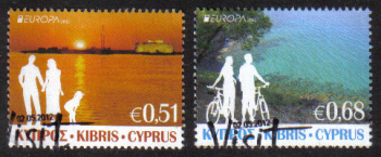 Cyprus Stamps SG 1275-76 2012 Europa Visit Cyprus - USED (g291)