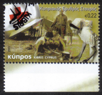 Cyprus Stamps SG 1291 2013 The Cyprus Red Cross - CTO USED (h448)