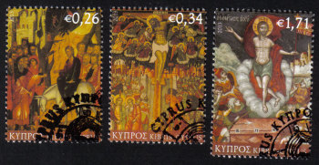 Cyprus Stamps SG 1294-96 2013 Easter  - USED CTO (h470)