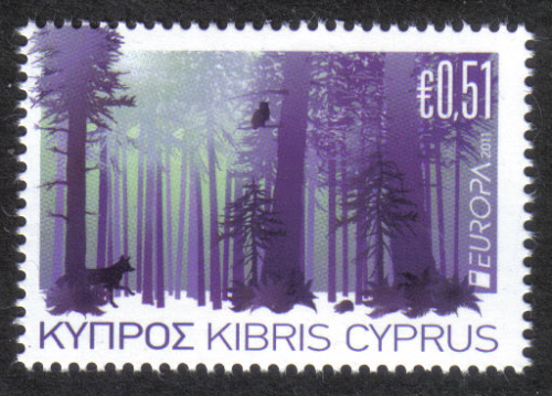 Cyprus Stamps SG 1246 2011 51c - MINT