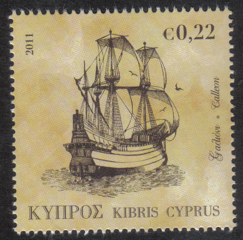 Cyprus Stamps SG 1251 2011 22c - MINT