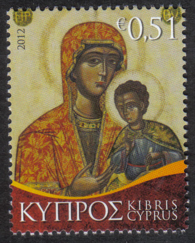 Cyprus Stamps SG 2012 (h) 51c Christmas - MINT