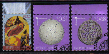 Cyprus Stamps SG 1233-35 2010 Christmas - CTO USED (d427)