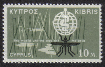 Cyprus Stamps SG 209 1962 10 Mils - MINT