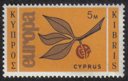 Cyprus Stamps SG 267 1965 5 Mils - MINT