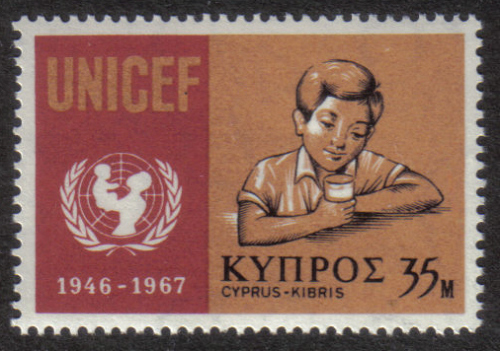 Cyprus Stamps SG 322 1968 35 Mils - MINT