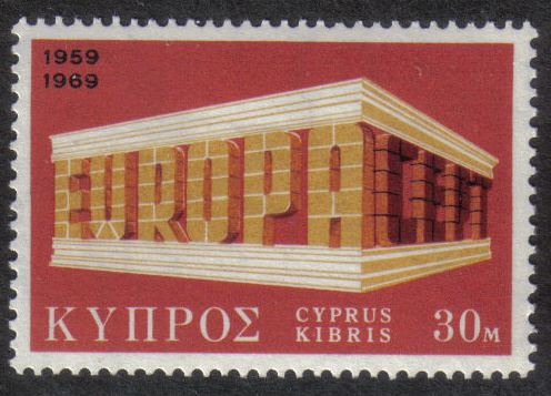 Cyprus Stamps SG 332 1969 30 Mils - MINT