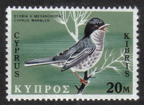 Cyprus Stamps SG 336 1969 20 Mils - MINT