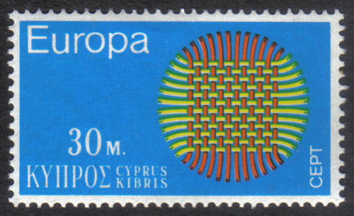 Cyprus Stamps SG 346 1970 30 Mils - MINT