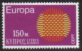 Cyprus Stamps SG 347 1970 150 Mils - MINT