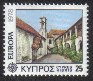 Cyprus Stamps SG 502 1978 25 Mils - MINT