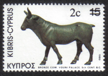 Cyprus Stamps SG 608 1983 2 cent - MINT