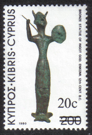 Cyprus Stamps SG 616 1983 20 cent - MINT