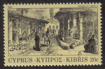 Cyprus Stamps SG 629 1984 20 cent - MINT