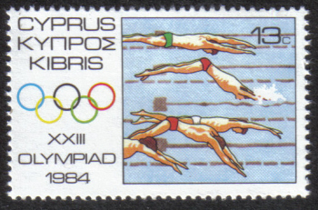 Cyprus Stamps SG 637 1984 13 cent - MINT