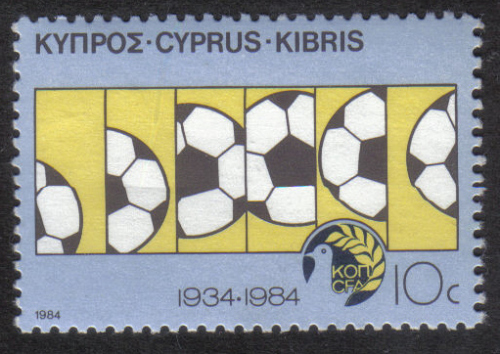 Cyprus Stamps SG 642 1984 10 cent - MINT