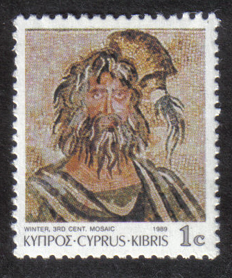 Cyprus Stamps SG 756 1989 1c - MINT