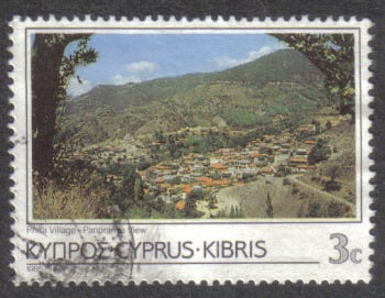 Cyprus Stamps SG 650 1985 3 Cent - USED (h892)