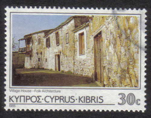 Cyprus stamps SG 659 1985 30c - USED (h893)