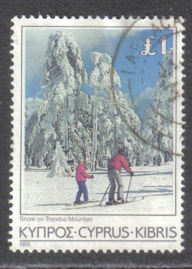 Cyprus Stamps SG 661 1985 £1.00 - USED (h895)