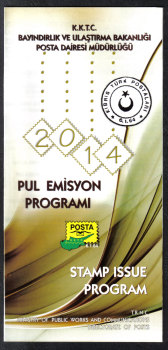 North Cyprus 2014 Stamp issue program
