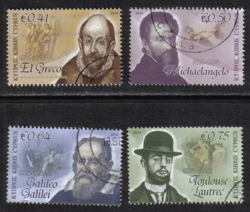 Cyprus Stamps SG 2014 (d) Intellectual Pioneers - USED (h910)